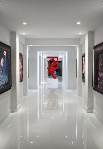 玄关门厅现代风格装饰设计图片