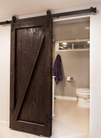 浴室推拉门混搭风格效果图