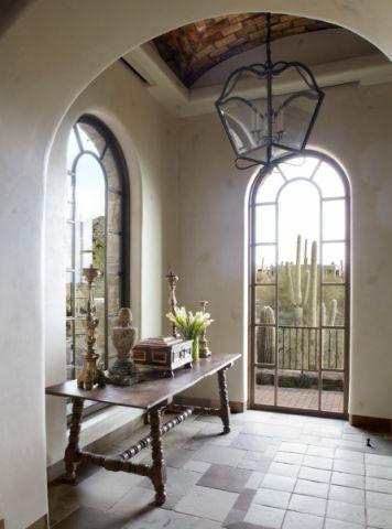 玄关吊顶地中海风格装潢图片