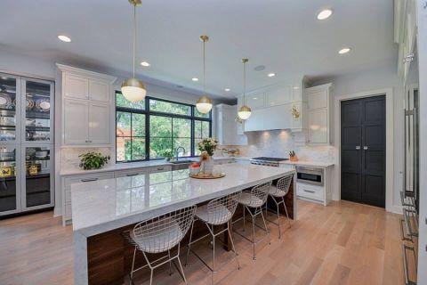 厨房地板砖现代风格装修设计图片