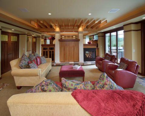 106平米楼房现代风格装修图片