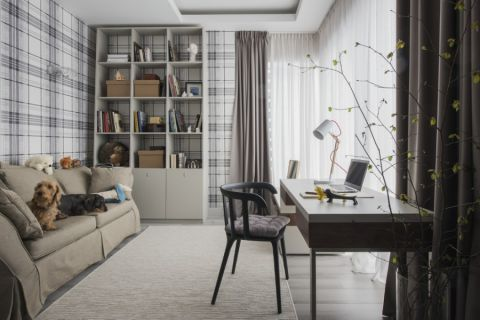 85平米二居室北欧风格装修图片