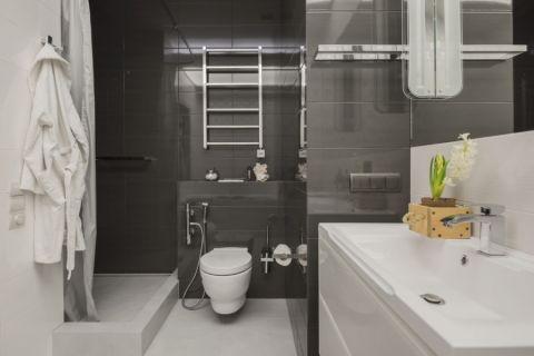 143平米公寓北欧风格装修图片