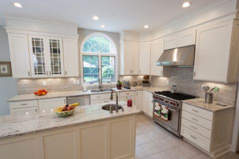 厨房橱柜美式风格装修图片
