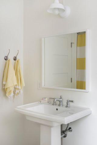 浴室洗漱台现代风格装潢图片