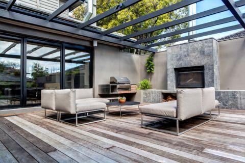 阳台走廊现代风格效果图