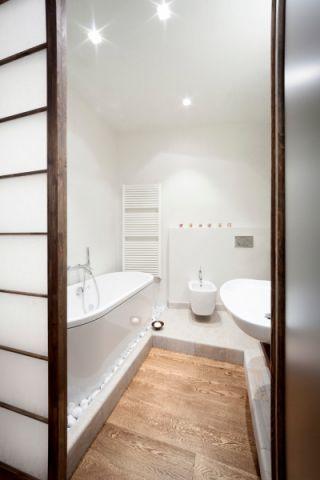 浴室推拉门现代风格效果图