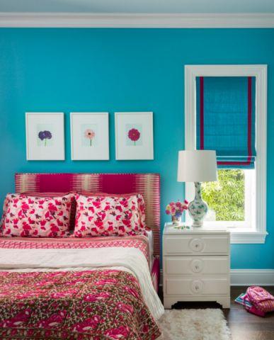 儿童房照片墙现代风格装饰设计图片