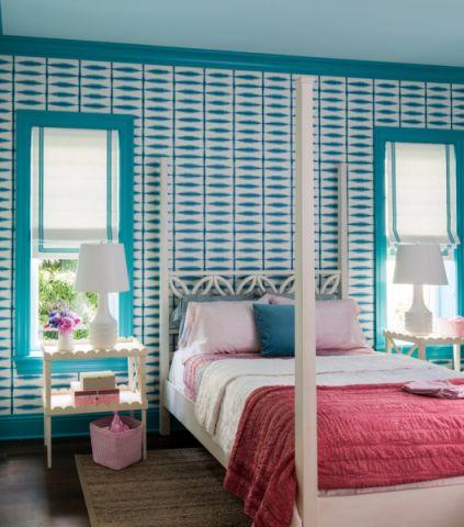 儿童房床现代风格装潢设计图片