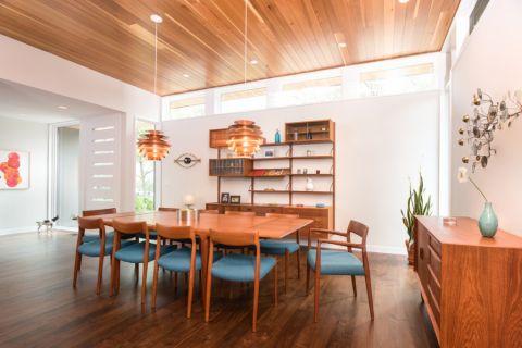 现代风格庭院160平米装修图片