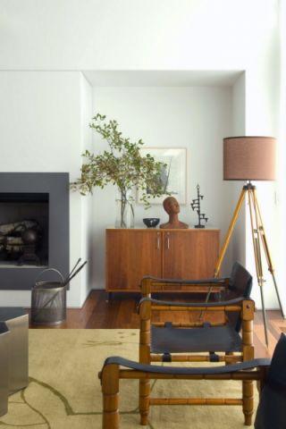 客厅灯具混搭风格效果图