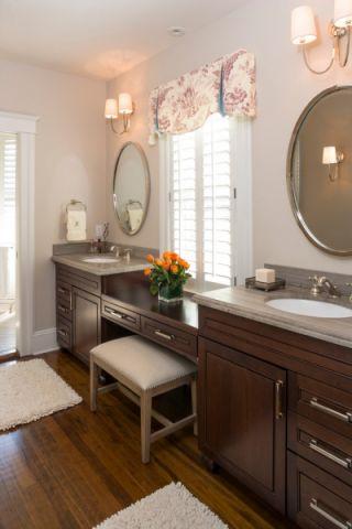 浴室地板砖现代风格装潢效果图
