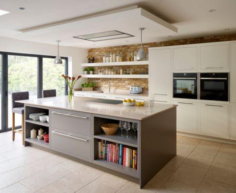 厨房地砖混搭风格效果图