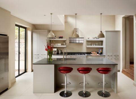 厨房吊顶混搭风格装潢效果图