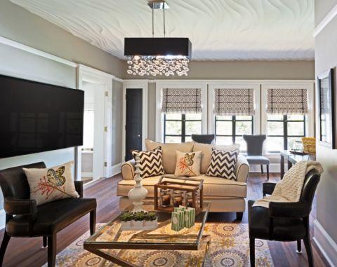 美式风格公寓109平米装饰设计图片