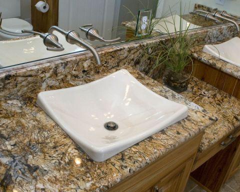 浴室洗漱台混搭风格效果图