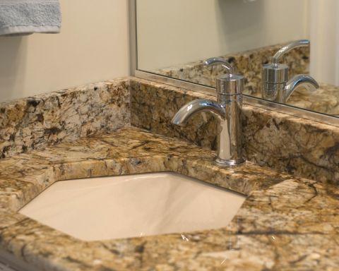 浴室洗漱台混搭风格装饰效果图