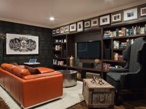 现代风格套房80平米效果图