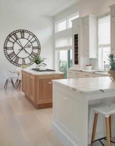 厨房白色橱柜地中海风格装修图片