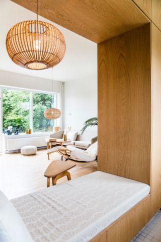 客厅地板砖北欧风格装饰效果图