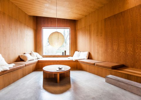 北欧风格二居室112平米装修图