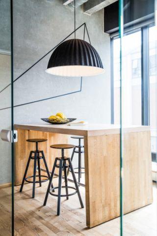 餐厅北欧风格装潢设计图片