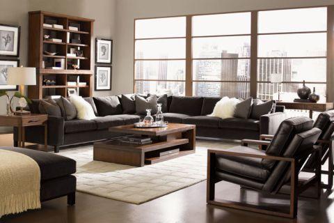 74平米二居室现代风格装饰实景图片