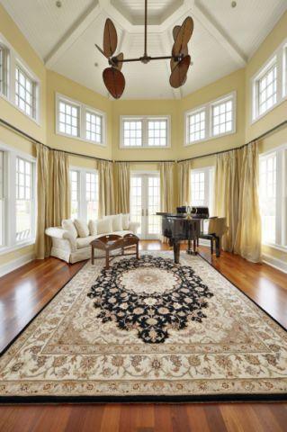 109平米别墅美式风格装修设计
