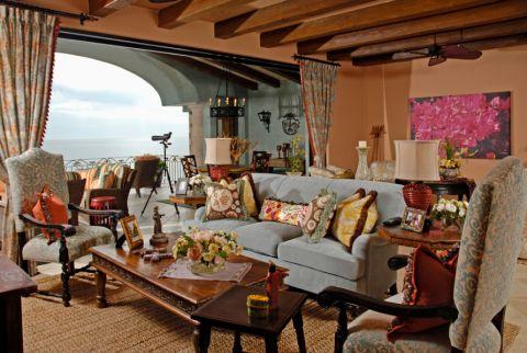 地中海风格庭院172平米装修图片