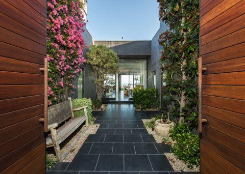 阳台地砖混搭风格装潢图片