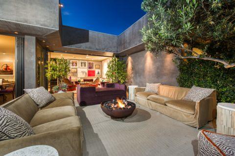 阳台沙发混搭风格装饰设计图片