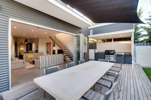 阳台灰色细节现代风格装饰设计图片