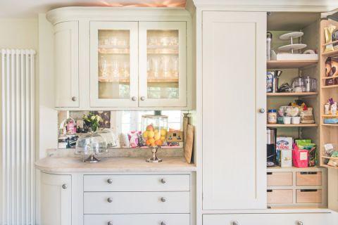 厨房米色吧台美式风格装修效果图
