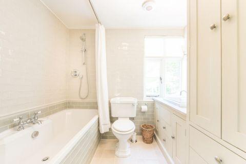 浴室白色细节美式风格装修设计图片