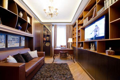 书房混搭风格装饰设计图片