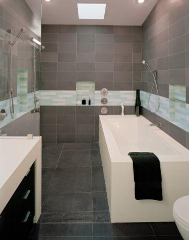 浴室背景墙现代风格装饰设计图片
