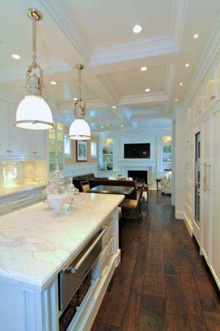 厨房厨房岛台美式风格装修图片
