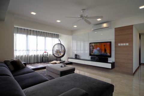 209平米套房现代风格装修图片