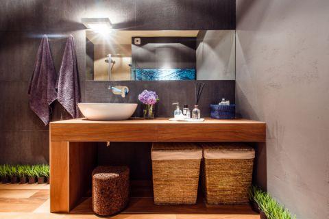 浴室洗漱台现代风格装修效果图