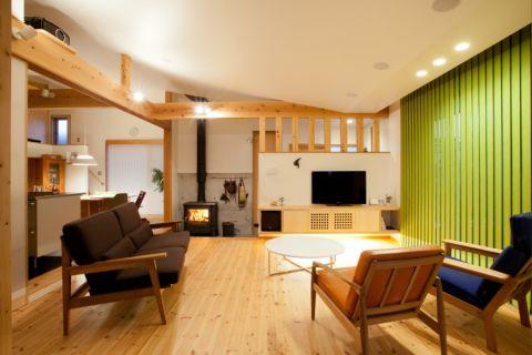 客厅米色窗台混搭风格装饰设计图片