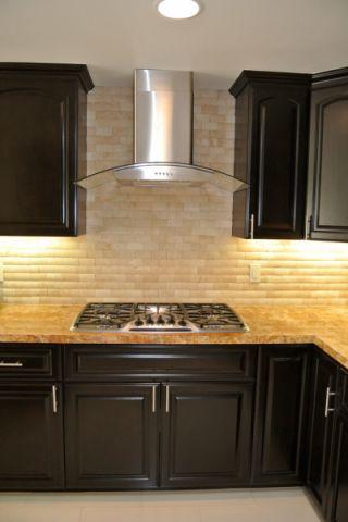 厨房现代风格效果图大全2017图片_土拨鼠美好风雅厨房现代风格装修设计效果图欣赏