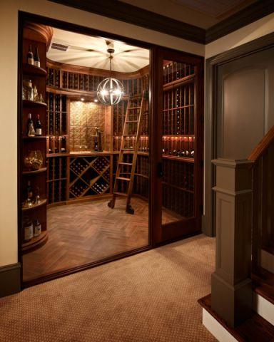 酒窖美式风格装饰图片