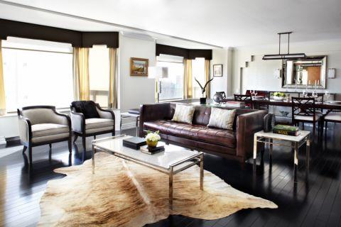 127平米公寓现代风格装饰图