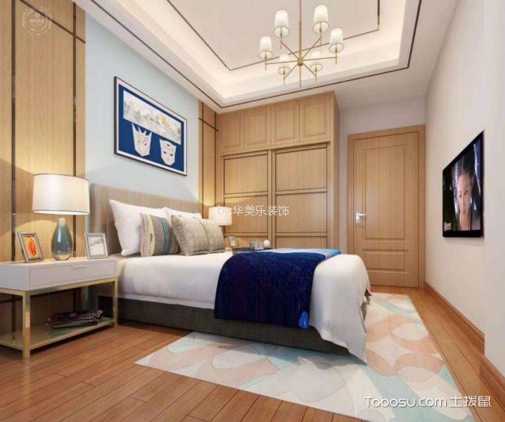 卧室黄色地砖现代简约风格装潢设计图片