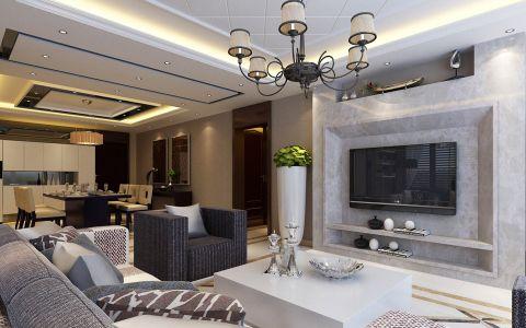 混搭风格146平米四室两厅新房装修效果图