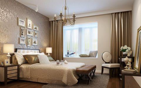 卧室窗帘混搭风格装潢设计图片