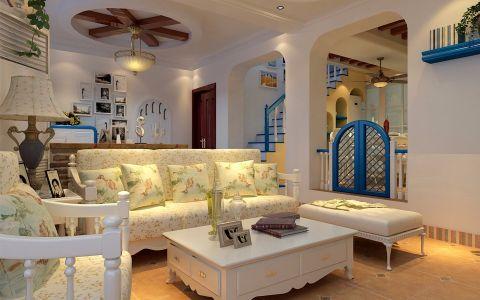105平米地中海风格二居室装修效果图