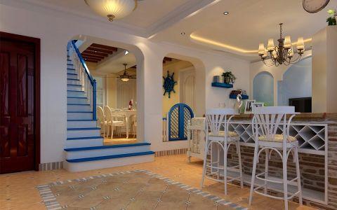 客厅吧台地中海风格装饰效果图