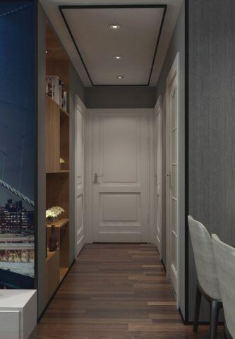 客厅走廊现代风格装潢设计图片