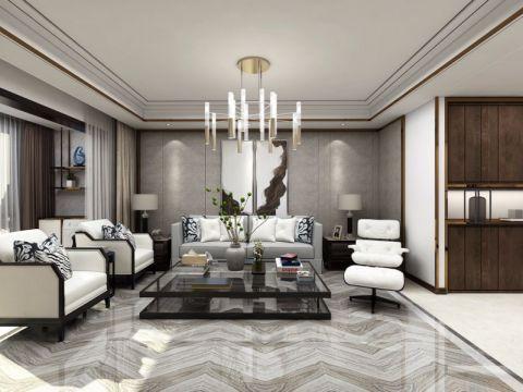 147平米三室两厅两卫港式风格装修效果图